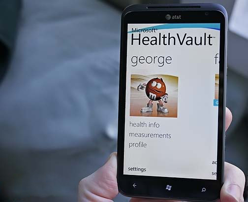tablet-HealthVault