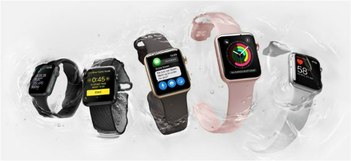Apple Watch Series 2 для пловцов