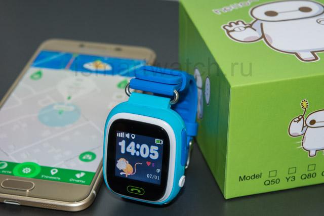 Smart Baby Watch Q90 коробка