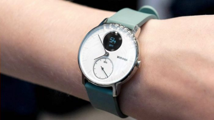 Withings Steel HR белый циферблат