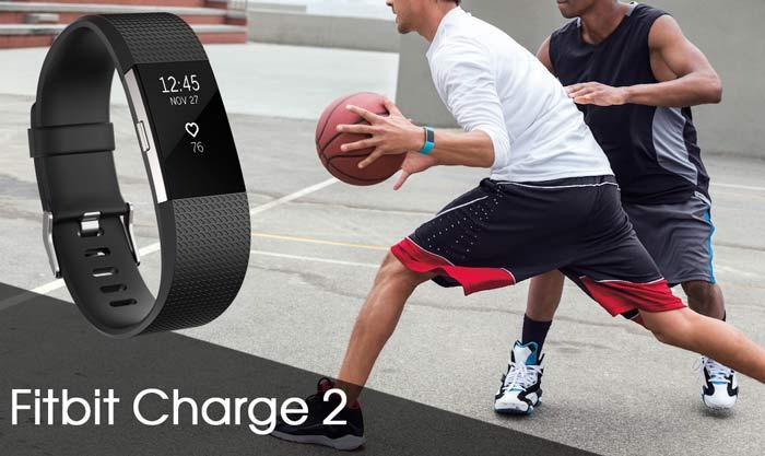 Лучший фитнес браслет с пульсометром Fitbit Charge 2
