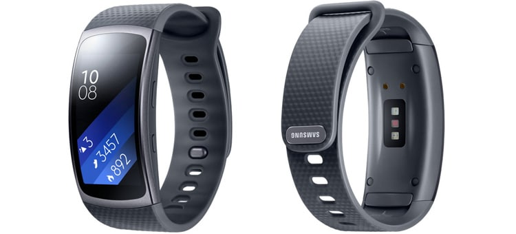 лучший фитнес трекер Samsung Gear Fit 2