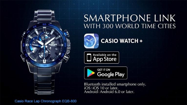умные часы Casio EQB-800