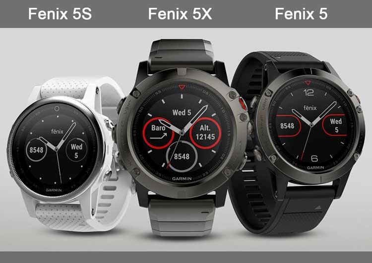 Обзор часов Garmin Fenix 5S/5/5X: на чем остановить выбор