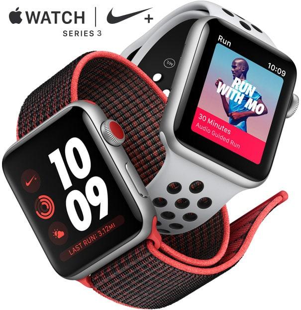Apple Watch Series 3 Midnight Fog