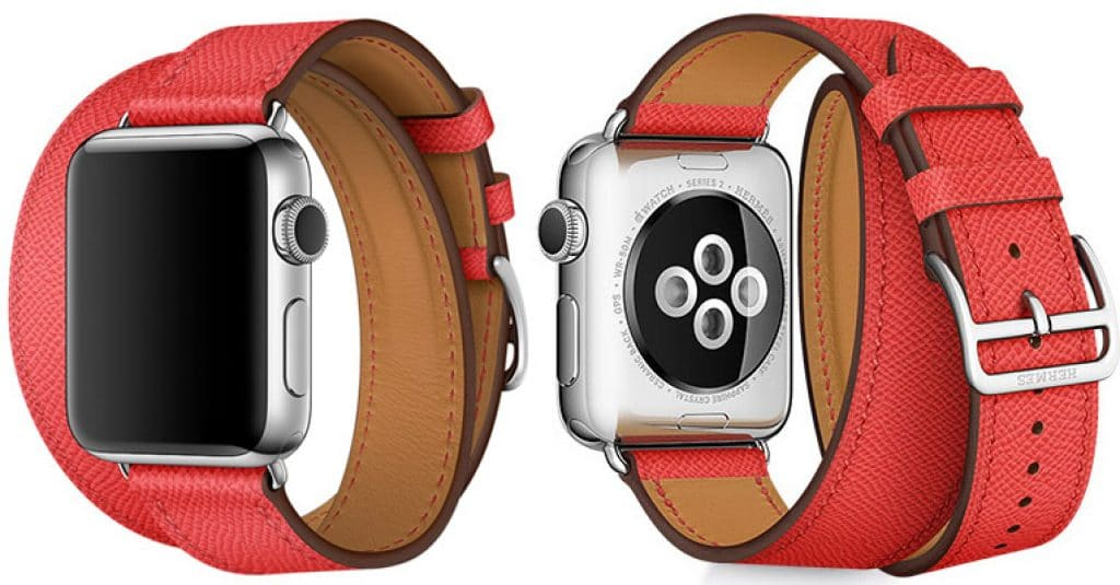 Hermes Epsom apple watch