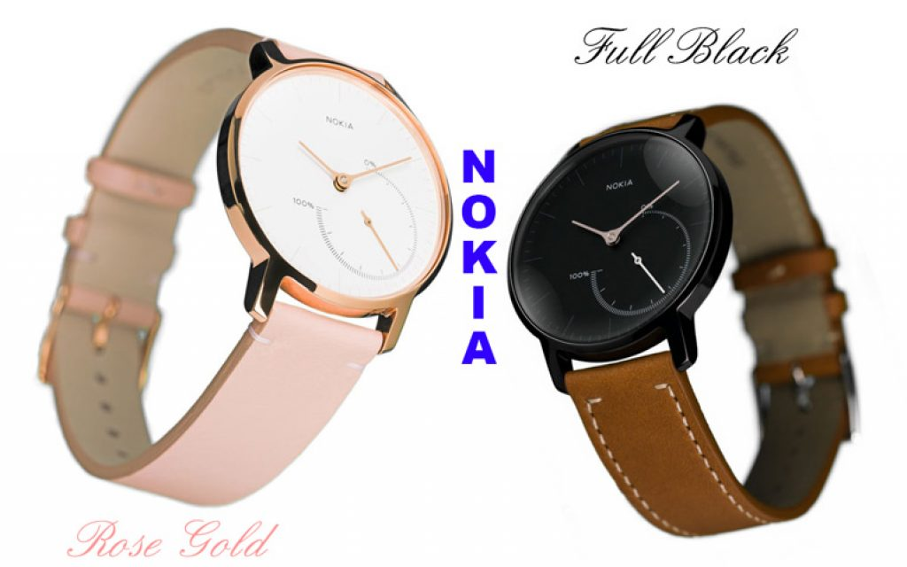 Nokia rose gold and black full