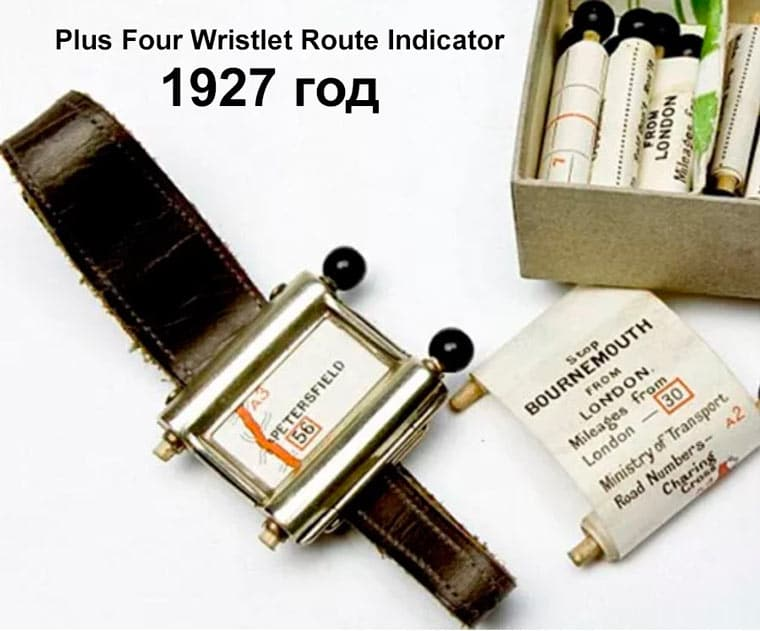 Plus Four Wristlet Route Indicator