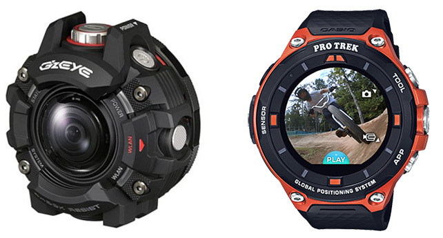 casio gze 1 action Pro Trek Android Wear