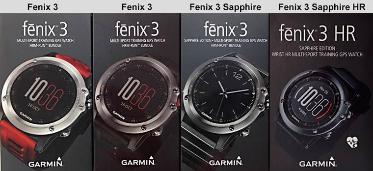 Fenix 3 коробки