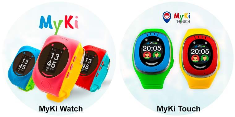 Часы MyKi Watch и MyKi Touch