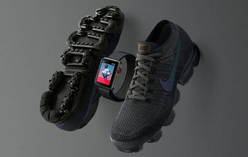 nike apple watch и кроссовки