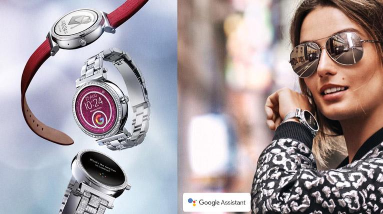 Андреа Диакону в часах Sofie Smartwatch