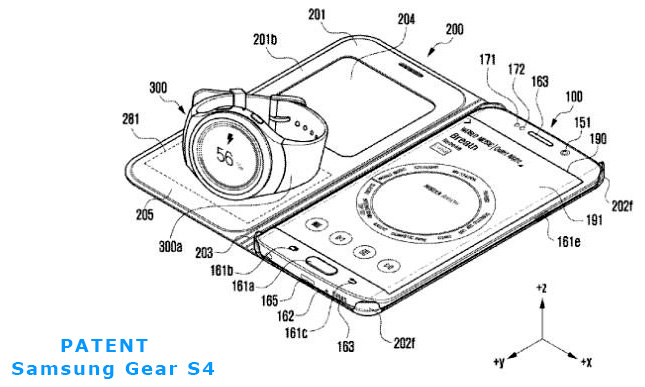 samsung watch patent