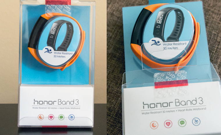 Honor Band 3 коробка