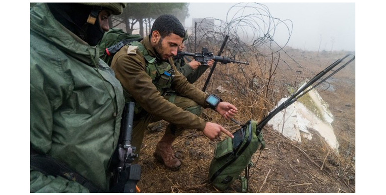Военные часы для израильских солдат