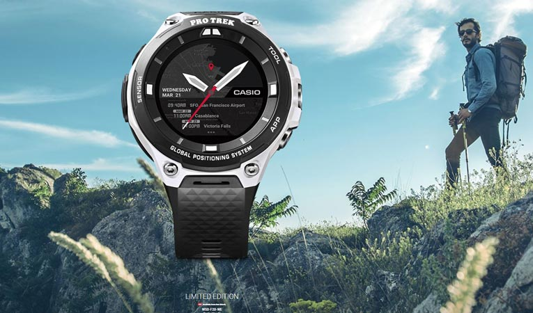 Casio limited idition wsd f20 we