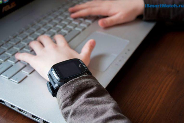 часы GW400S на детской руке