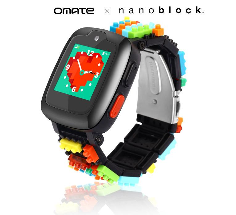Детские смарт-часы Omate x Nanoblock