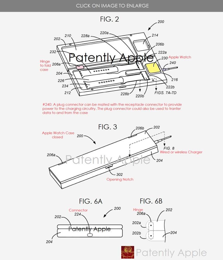 Apple Watch зарядка чехол