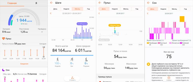 приложение Huawei Wear