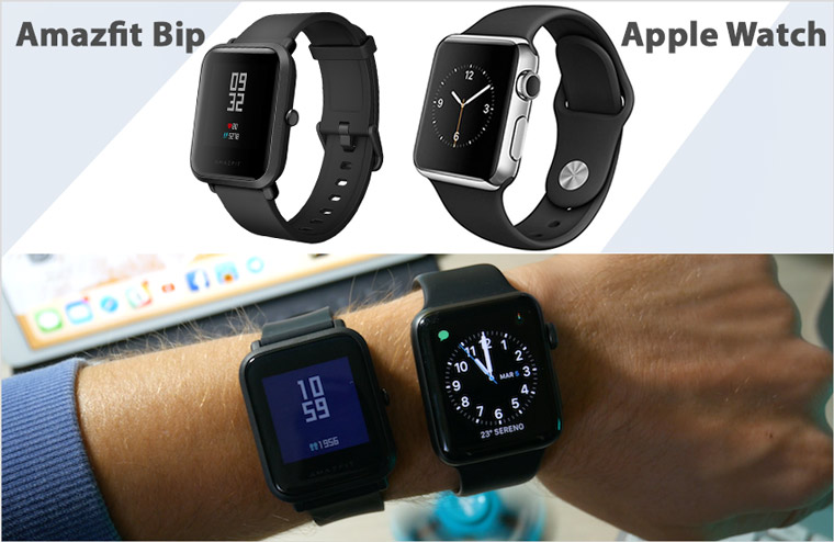 Amazfit Bip Apple Watch