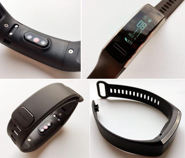 Дизайн Huawei Band 2 Pro