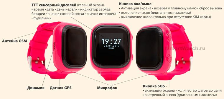 EnBe Watch кнопки