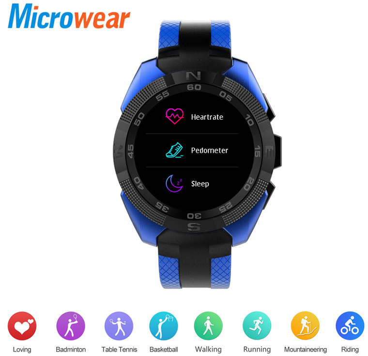 функции смарт-часов Microwear