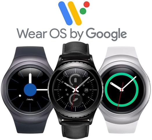 умные часы samsung получат wear os