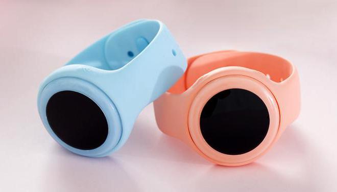 розовый и голубой цвет часов