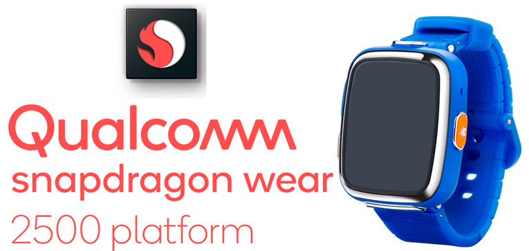 Snapdragon Wear 2500 baby watch