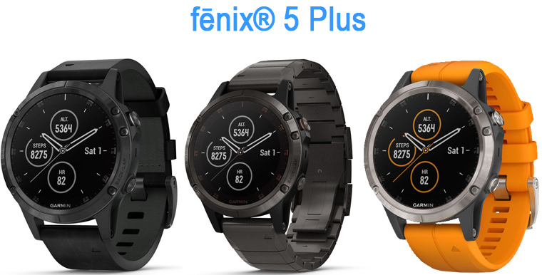 fenix 5 plus