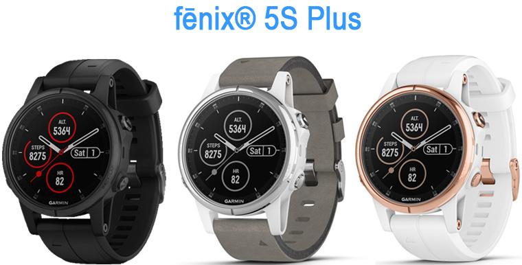 fenix 5S plus