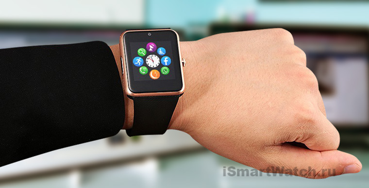 Обзор Smart Watch GT08  бюджетный аналог Apple Watch 1cc7061a70b62