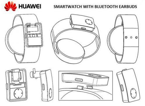 Huawei Watch 3 наушники в часах
