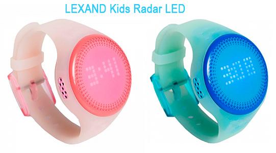 детские умные часы LEXAND Kids Radar LED