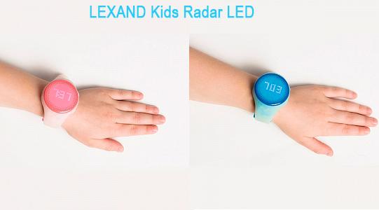 LEXAND Kids Radar LED на руке