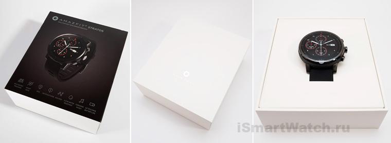 Amazfit Stratos коробка