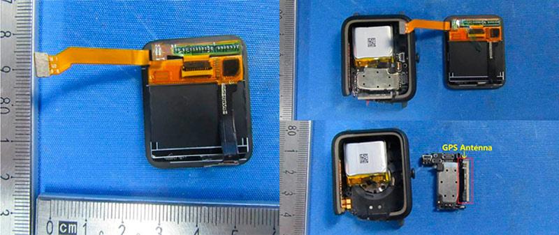 GPS антенна и дисплей