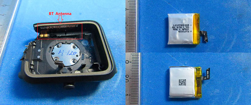 Bluetooth антенна и батарея
