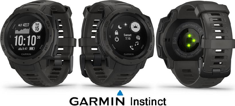датчики Garmin Instinct