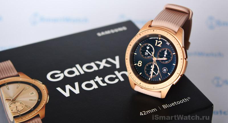 Обзор Galaxy Watch