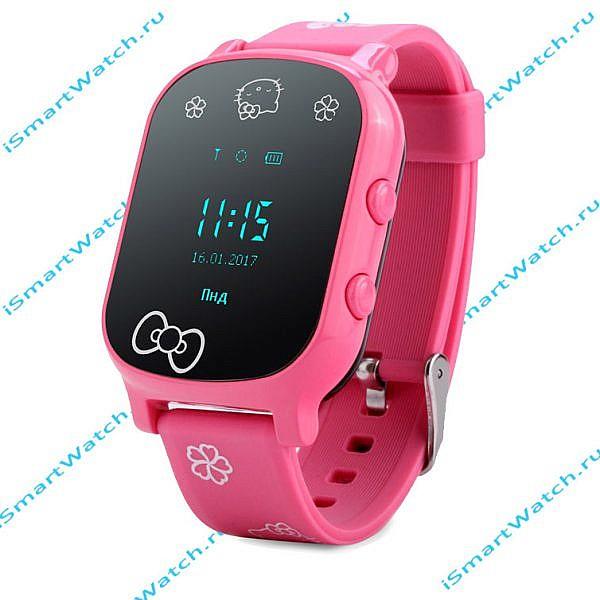 часы для девочки T58 розовые