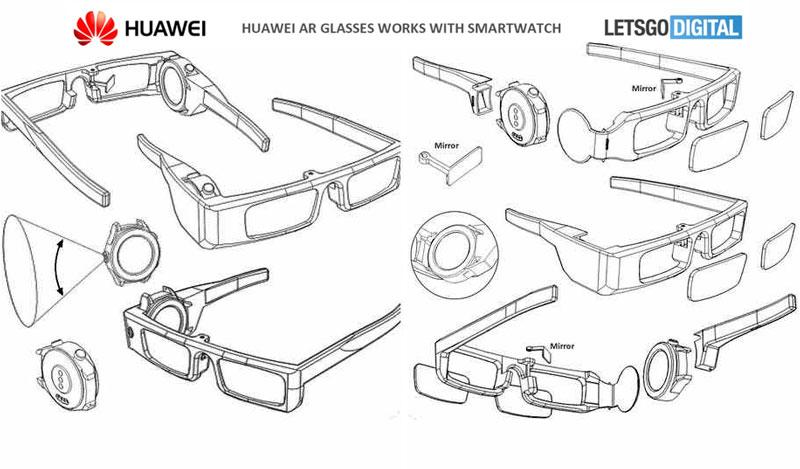 Huawei умные очки смарт-часы