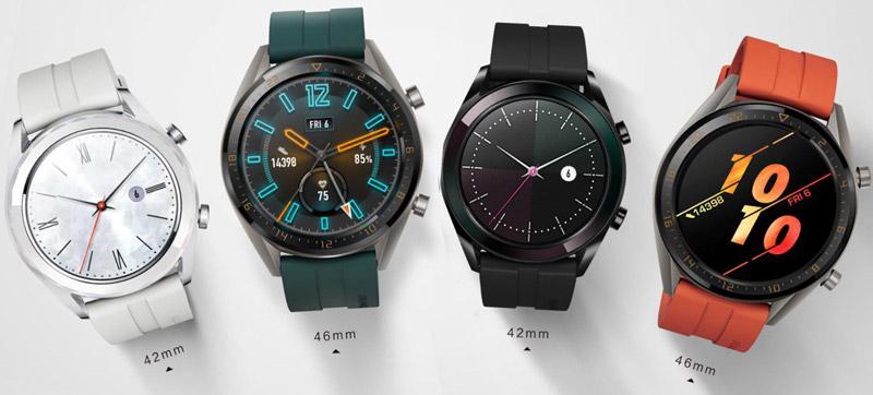 новые цвета моделей часов
