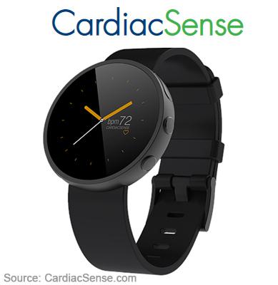 смарт-часы с ЭКГ CardiacSense