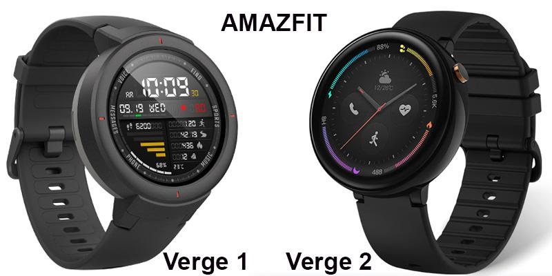 Amazfit версия 1 и 2