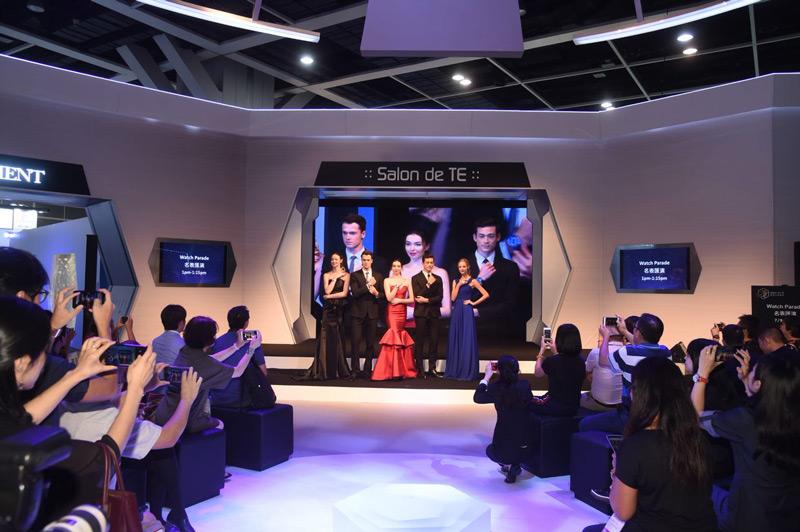 выставка часов в Гонконге