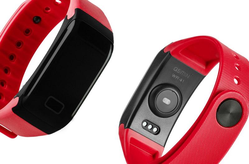 Фитнес-браслет GSMIN WR41 с измерением давления и пульса - Must have для любителей спорта
